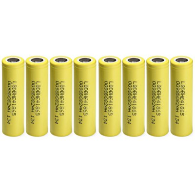 8pcs HE4 2500mAh 3.7V 18650 Rechargeable Li-ion Battery