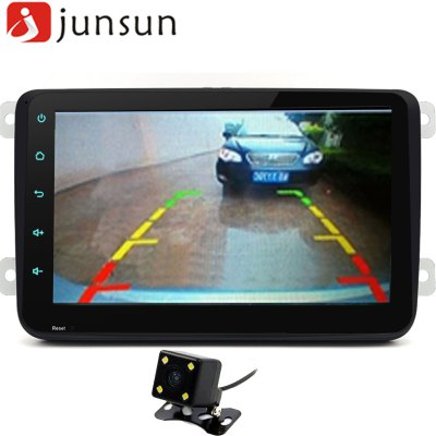 Junsun R168S Android 4.4 8 inch Car Media PlayerCar DVD Player<br>Junsun R168S Android 4.4 8 inch Car Media Player<br><br>CPU Chips: Cortex A7<br>CPU Main Freq.: 1.6GHz<br>FLASH (internal storage): 16GB<br>Input: DC 12V<br>Installation Site: In-Dash<br>Material: Electronic Components, Metal<br>Media Format: MP3, MPG, MP4, MPEG, MPEG2, MOV, FLAC, AVI, RM, RMVB, WMA, WMV, MPEG4<br>Model: R168S<br>OSD Language: Arabic,Chinese,Czech,English,etc,French,German,Italian,Japanse,Portuguese,Russian,Slovak,Spanish,Swedish,Turkish<br>Package Contents: 1 x Car Media Player, 1 x Rearview Camera, 1 x Connection Wire for Rearview Camera (600cm), 1 x GPS Antenna (300cm), 2 x Power Cable Harness (23cm), 1 x Microphone (300cm), 1 x Protocol Box, 1 x Engli<br>Package size (L x W x H): 31.00 x 26.00 x 20.00 cm / 12.2 x 10.24 x 7.87 inches<br>Package weight: 2.500 kg<br>Product size (L x W x H): 21.80 x 17.00 x 12.90 cm / 8.58 x 6.69 x 5.08 inches<br>RAM (memory): DDR3 1GB<br>Screen resolution: 1024 x 600<br>Screen size: 8inch<br>Screen type: Digital touch screen<br>Type: 2-DIN