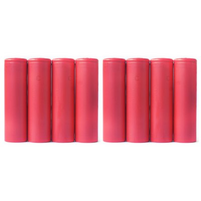 8x Sanyo NCR18650GA 3500mAh 18650 Battery
