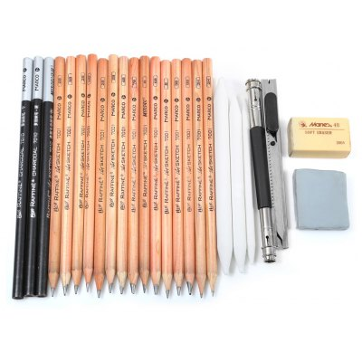 Marco 25 in 1 Sketch Drawing Pencil Kit
