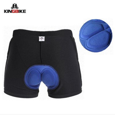 Kingbike Cycling Boxers Underpants with Silicone Pads Bike Bicycle Outdoor Biking Riding Clothes for Men