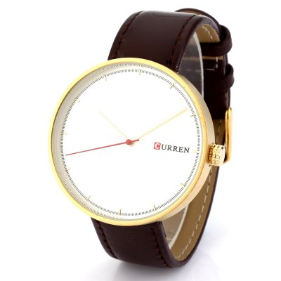CURREN 8223 Casual Big Dial Men Quartz Watch