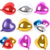 10 inch Heart Inflating Foil Balloon Auto-Seal Party Decoration Toy for Kids / Adult for sale