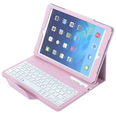 2 in 1 Bluetooth 3.0 Keyboard PU Leather Full-body Case for iPad Pro 9.7 inch