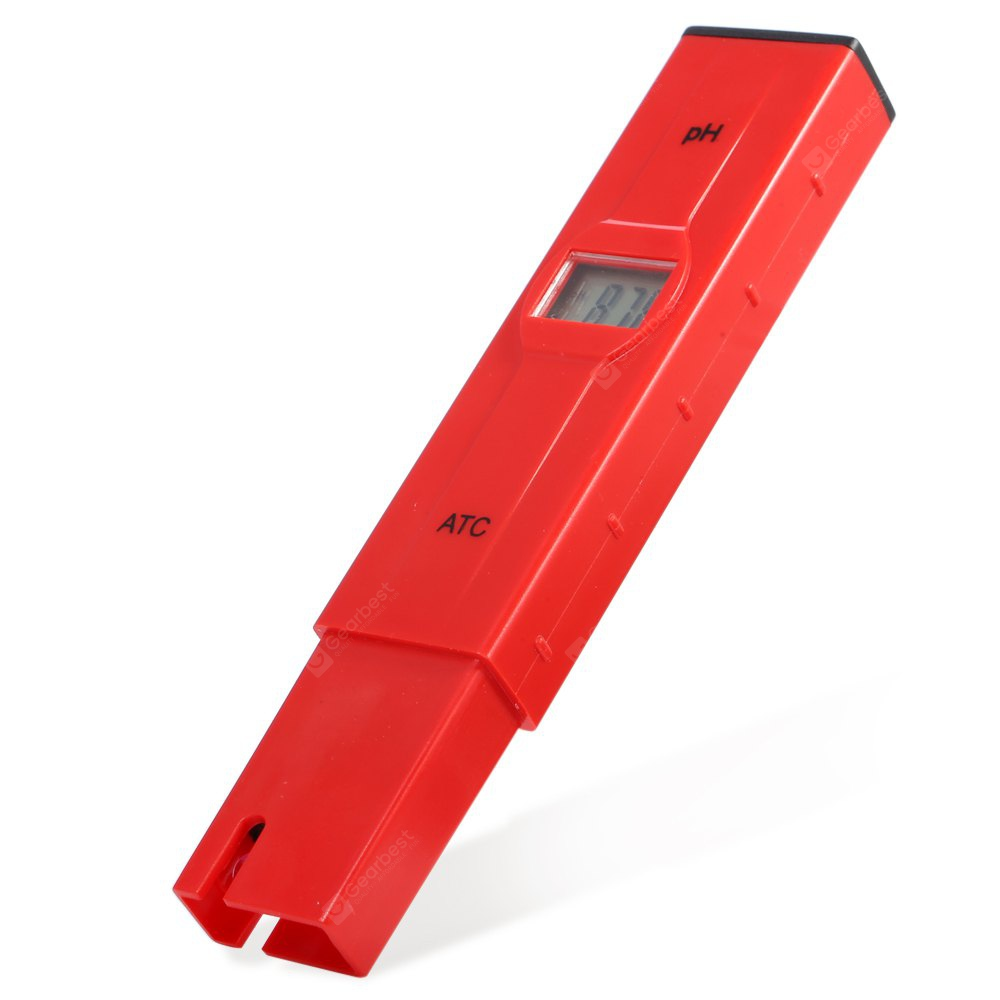 Mini Pen Type Digital pH Meter with ATC - Backlit LCD