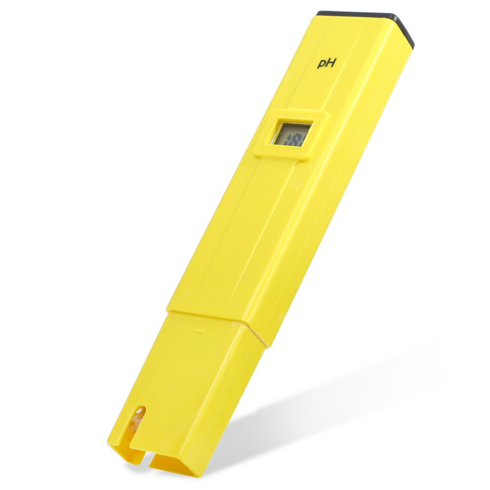Portable Digital pH Meter 0.1 Resolution Pen Tester