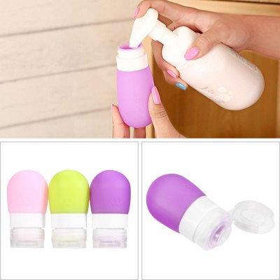 Silicone Makeup Cosmetic Lotion Bottle - 38ml