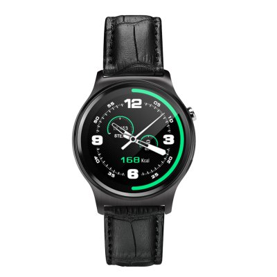 GW01 Heart Rate Monitoring Smart WatchSmart Watches<br>GW01 Heart Rate Monitoring Smart Watch<br><br>Built-in chip type: MTK2502<br>Bluetooth version: Bluetooth 4.0<br>RAM: 64MB<br>ROM: 128MB<br>Waterproof: Yes<br>IP rating: Life Waterproof<br>Bluetooth calling: Call log sync,Dialing,Phone call reminder,Phonebook<br>Messaging: Message reminder<br>Health tracker: Heart rate monitor,Pedometer,Sedentary reminder,Sleep monitor<br>Remote control function: Remote Camera<br>Notification: Yes<br>Notification type: Facebook,Twitter,Wechat,WhatsApp<br>Anti-lost: Yes<br>Find phone: Yes<br>Groups of alarm: 1 Group<br>Alert type: Ring,Vibration<br>Locking screen : 5 (can free to add)<br>Other function: Alarm,Calender,Siri,Stopwatch,Voice recorder<br>Screen: IPS<br>Screen resolution: 240 x 240<br>Screen size: 1.3 inch<br>Operating mode: Touch Screen<br>Type of battery: Polymer Battery<br>Battery Capacty: 310mAh<br>Charging time: About 3hours<br>Standby time: About 5 Days<br>People: Male table<br>Shape of the dial: Round<br>Case material: Stainless Steel<br>Band material: Genuine Leather<br>Compatible OS: Android,IOS<br>Compatability: Android 4.3 / iOS 7.0 and above system<br>Language: Arabic,English,French,Italian,Portuguese,Russian,Simplified Chinese,Spanish,Traditional Chinese<br>Available color: Black,Gold,Silver<br>Dial size: 4.5 x 4.5 x 1.33 cm / 1.77 x 1.77 x 0.52 inches<br>Band size: 27.5 x 2.1 cm / 10.83 x 0.83 inches<br>Product size (L x W x H): 27.50 x 4.50 x 1.33 cm / 10.83 x 1.77 x 0.52 inches<br>Package size (L x W x H): 9.20 x 9.20 x 7.70 cm / 3.62 x 3.62 x 3.03 inches<br>Product weight: 0.054 kg<br>Package weight: 0.206 kg<br>Package Contents: 1 x Smart Watch, 1 x Charging Cable, 1 x Charging Base, 1 x Chinese and English User Manual