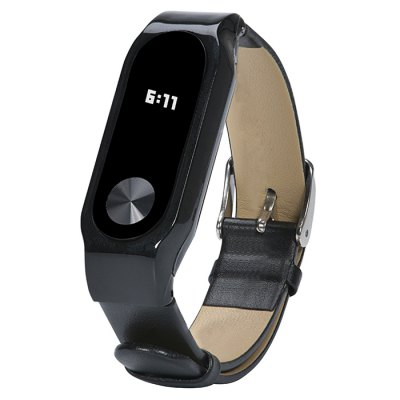 D.MRX Genuine Leather Strap for Xiaomi Miband 2