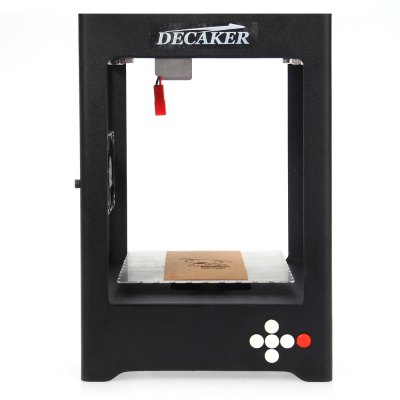 DECAKER SUKA - K2 Micro Laser Engraver3D Printers, 3D Printer Kits<br>DECAKER SUKA - K2 Micro Laser Engraver<br><br>Brand: Decaker<br>Engraving Area: 38 x 38mm<br>Model: SUKA - K2<br>Package size: 25.70 x 18.80 x 18.50 cm / 10.12 x 7.4 x 7.28 inches<br>Package weight: 1.7600 kg<br>Packing Contents: 1 x DECAKER SUKA - K2 Micro Laser Engraver, 1 x Laser Head, 1 x Glasses, 1 x Screwdriver, 2 x Screw, 1 x 5V 2A Adapter, 2 x Wood Chip, 2 x Cardboard, 1 x Bilingual User Manual in English / Chinese<br>Product size: 14.10 x 14.10 x 21.00 cm / 5.55 x 5.55 x 8.27 inches<br>Product weight: 1.3570 kg<br>Supporting material: Paper, Leather, Rubber, Wood, Bamboo, Plastic<br>Type: 3D Laser