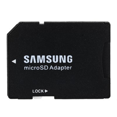 Original Samsung TF to SD Card AdapterMemory Cards<br>Original Samsung TF to SD Card Adapter<br><br>Brand: SAMSUNG<br>Memory Card Type: Adapters and Cases<br>Package Contents: 1 x Original Samsung TF to SD Card Adapter<br>Package size (L x W x H): 5.10 x 4.20 x 0.70 cm / 2.01 x 1.65 x 0.28 inches<br>Package weight: 0.028 kg<br>Product size (L x W x H): 3.10 x 2.40 x 0.10 cm / 1.22 x 0.94 x 0.04 inches<br>Product weight: 0.001 kg<br>Type: Memory Card