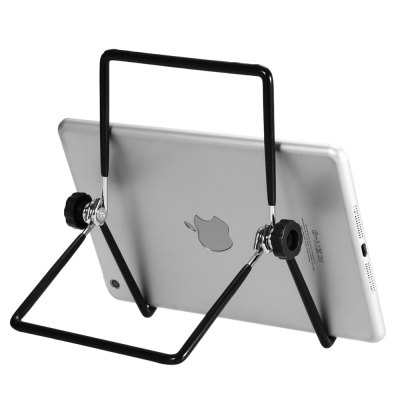 Flexible Tablet Holder Stand for iPad LaptopiPad Mounts &amp; Holders<br>Flexible Tablet Holder Stand for iPad Laptop<br><br>Color: Black<br>Features: Flexible, Adjustable Stand<br>Mainly Compatible with: iPad, Tablet PC, iPad Pro, iPad mini 4, iPad mini 3, iPad mini 2, Ipad 2, iPad 3, Ipad 4, Ipad Mini, iPad Air (iPad 5), iPad Air 2<br>Material: Metal, PC<br>Package Contents: 1 x Bracket<br>Package size (L x W x H): 18.50 x 12.00 x 4.40 cm / 7.28 x 4.72 x 1.73 inches<br>Package weight: 0.170 kg<br>Product size (L x W x H): 15.50 x 11.00 x 3.40 cm / 6.1 x 4.33 x 1.34 inches<br>Product weight: 0.112 kg<br>Type: Stand