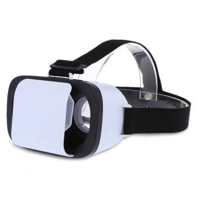 Mini Lightweight Virtual Reality 3D VR Glasses with Remote Controller