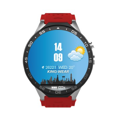 KingWear KW88 3G Smartwatch PhoneSmart Watch Phone<br>KingWear KW88 3G Smartwatch Phone<br><br>Brand: KingWear<br>Type: Watch Phone<br>OS: Android 5.1<br>CPU: MTK6580<br>Cores: Quad Core<br>RAM: 512MB<br>ROM: 4GB<br>External Memory: Not Supported<br>Compatible OS: Android<br>WIFI: 802.11b/g/n wireless internet<br>Network type: GSM+WCDMA<br>Frequency: GSM 850/900/1800/1900MHz WCDMA 850/2100MHz<br>Support 3G : Yes<br>GPS: Yes<br>Bluetooth: Yes<br>Bluetooth version: V4.0<br>Screen type: Capacitive<br>Camera type: Single camera<br>Front camera: 2.0MP (SW 5.0MP)<br>SIM Card Slot: Single SIM<br>Speaker: Supported<br>Picture format: GIF,JPEG,PNG<br>Music format: MP3<br>Video format: MP4<br>Languages: English, French, Russian, Vietnamese, Polish, Portuguese, Hebrew, Turkish, Arabic, Italian, Persian, Japanese, Korean, Thai, Bengli, Burmese, Indonesian, Hindi, German, Spanish<br>Additional Features: 2G,3G,Alarm,Bluetooth,GPS,Notification,Wi-Fi<br>Functions: Pedometer<br>Cell Phone: 1<br>Screen Protector: 1<br>Battery: 400mAh Built-in<br>USB Cable: 1<br>Screwdriver: 1<br>English Manual : 1<br>Product size: 5.50 x 4.70 x 1.40 cm / 2.17 x 1.85 x 0.55 inches<br>Package size: 11.60 x 11.60 x 9.00 cm / 4.57 x 4.57 x 3.54 inches<br>Product weight: 0.065 kg<br>Package weight: 0.300 kg
