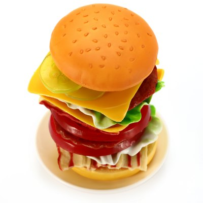 11 - 30 Hamburger TowerOther Educational Toys<br>11 - 30 Hamburger Tower<br><br>Completeness: Semi-finished Product<br>Gender: Unisex<br>Materials: Plastic<br>Package Contents: 2 x Tomato, 2 x Bacon, 2 x Burger Patty, 2 x Pickle, 2 x Lettuce, 2 x Cheese, 2 x Bun, 1 x Balancing Plate, 1 x Dice, 1 x Sticker<br>Package size: 30.00 x 29.00 x 7.00 cm / 11.81 x 11.42 x 2.76 inches<br>Package weight: 0.408 kg<br>Product size: 9.50 x 9.50 x 2.50 cm / 3.74 x 3.74 x 0.98 inches<br>Stem From: Other<br>Theme: Other