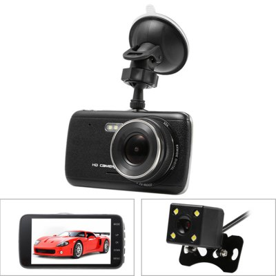 H6 Dual Lens Super HD 170 Degree Car DVR Recorder