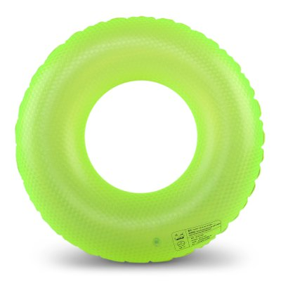 PVC Adult Waving Pattern Bright Color Swimming Ring