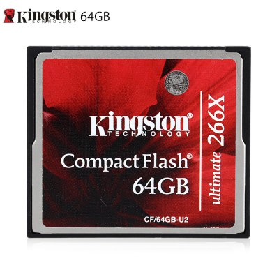Original Kingston CF / 64GB - U2 64GB CompactFlash Card
