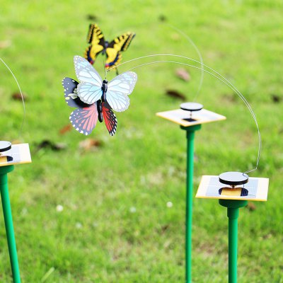 Solar Energy Butterfly Flying Toy