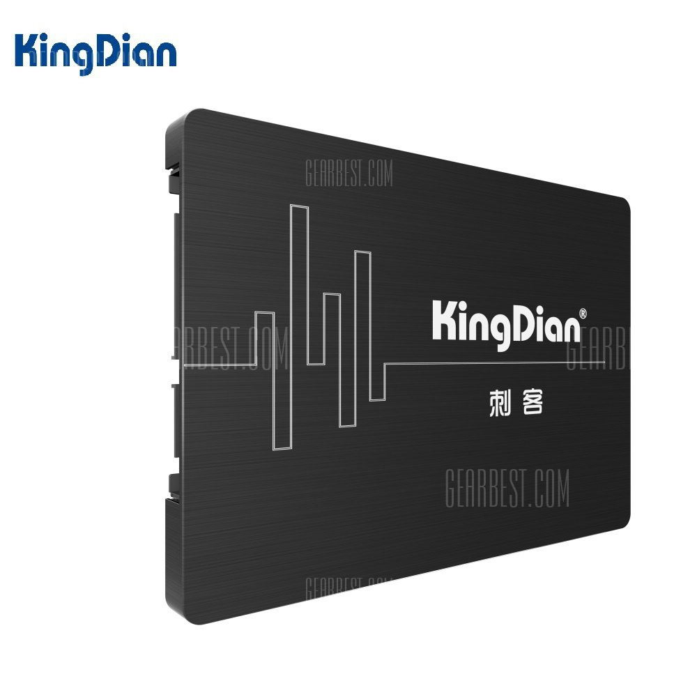 Special price for KingDian S280-120GB Solid State Drive 2.5 inch SSD Hard Disk SATA3 Interface  -  120GB  BLACK