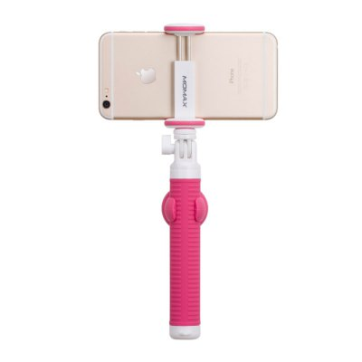 MOMAX Selfie Stick Bluetooth Self-timer Camera Shutter SetStands &amp; Holders<br>MOMAX Selfie Stick Bluetooth Self-timer Camera Shutter Set<br><br>Battery Capacity(mAh): CR2032 coin battery<br>Bluetooth Version: Bluetooth3.0<br>Clip Holder Range: 5.7 - 8.0 cm<br>Compatible System Version: Android 4.3, Android 4.4, iOS 6, iOS 7, iOS 8<br>Extended Length: 70 cm / 27.55 inch<br>Features: with Remote Control, with Bluetooth, Selfie Stick<br>Folding Length: 17 cm / 6.69 inch<br>Mainly Compatible with: Samsung Galaxy S4 i9500, Samsung Galaxy S5, Samsung Note 5, Samsung S6, Samsung S6 Ed, Samsung Galaxy Note 3, iPhone 6S, Blackberry, Galaxy Note 4, HTC, HTC One M9, iPhone 4/4S, iPhone 5/5S, iPhone 6, iPhone 6 Plus<br>Material: Silicon, Other, Stainless Steel<br>Package Contents: 1 x Selfie Stick, 1 x Hand Strap, 1 x Phone Clip, 1 x Bluetooth Shutter, 1 x Shutter Strap, 1 x Shutter Clip, 1 x Coin Battery, 1 x Hook, 1 x Storage Bag, 1 x Screw for GoPro, 1 x Tripod, 1 x Selfie S<br>Package size: 31.00 x 12.50 x 6.00 cm / 12.2 x 4.92 x 2.36 inches<br>Package weight: 0.460 kg<br>Product size: 17.40 x 3.50 x 3.50 cm / 6.85 x 1.38 x 1.38 inches<br>Product weight: 0.199 kg
