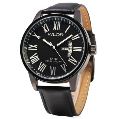 WLQR 8056 Fashion Japan Movt 3ATM Men Quartz Watch