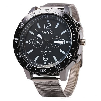 CaiQi A312 Casual Men Quartz Watch