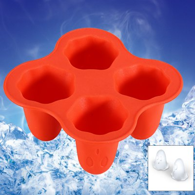 LHS BG - 301 Silicone Ice Mold with 4 Grids