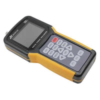 JINHAN JDS2012A Handheld Oscilloscope Digital MultimeterTesters &amp; Detectors<br>JINHAN JDS2012A Handheld Oscilloscope Digital Multimeter<br><br>Brand: JINHAN<br>Model: JDS2012A<br>Orthogonality Accuracy: 10nS/div - 5S/div<br>Package Contents: 1 x Oscilloscope, 1 x Charger, 1 x USB Cable, 1 x Probe, 1 x  Test Lead, 1 x English Manual<br>Package size (L x W x H): 25.30 x 20.70 x 6.60 cm / 9.96 x 8.15 x 2.6 inches<br>Package weight: 1.130 kg<br>Product size (L x W x H): 21.50 x 9.60 x 3.60 cm / 8.46 x 3.78 x 1.42 inches<br>Product weight: 0.370 kg<br>Special function: Handheld Oscilloscope with Digital Multimeter