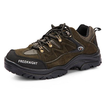 Male Breathable Mountaineering Shoes with Anti-slip SoleShoes<br>Male Breathable Mountaineering Shoes with Anti-slip Sole<br><br>Features: Breathable,Crashworthy,Durable,Water Resistant<br>Size: 42,43,44<br>Gender: Men<br>Season: Autumn,Spring,Summer,Winter<br>Closure Type: Lace-Up<br>Sole Material: Rubber<br>Color: Army green,Brown<br>Product weight: 1.200 kg<br>Package weight: 1.430 kg<br>Package size: 32.00 x 22.00 x 12.00 cm / 12.6 x 8.66 x 4.72 inches<br>Package Contents: 1 x Pair of Mountaineering Shoes