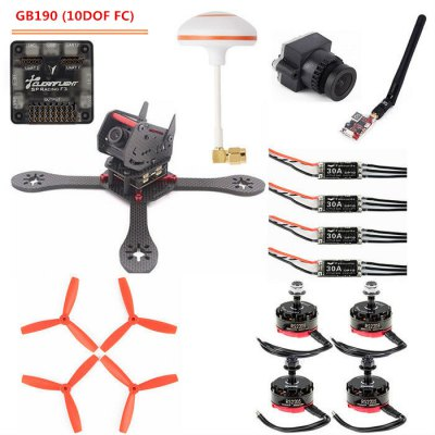GB190 190mm Wheelbase Quadcopter Accessory DIY Frame Kit Racing Drone