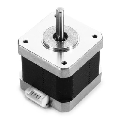428YGHM818 Stepper Motor Two Phase Four Wire3D Printer Parts<br>428YGHM818 Stepper Motor Two Phase Four Wire<br><br>Current: : 1.2A<br>Material: Iron<br>Model: 428YGHM818<br>Package Contents: 1 x 428YGHM818 DIY CNC Stepping Motor, 1 x Connecting Cable<br>Package size: 13.40 x 10.60 x 7.70 cm / 5.28 x 4.17 x 3.03 inches<br>Package weight: 0.380 kg<br>Product size: 6.35 x 4.23 x 4.23 cm / 2.5 x 1.67 x 1.67 inches<br>Product weight: 0.296 kg<br>Resistance: : 3 Ohm<br>Suitable for: Accessory