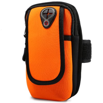 Unisex Water Resistant Arm Bag with Nylon LoopPacks<br>Unisex Water Resistant Arm Bag with Nylon Loop<br><br>Color: Black,Blue,Orange,Red<br>Gender: Unisex<br>Package Content: 1 x Arm Bag<br>Package size: 18.50 x 11.50 x 4.00 cm / 7.28 x 4.53 x 1.57 inches<br>Package weight: 0.120 kg<br>Product size: 17.50 x 10.50 x 3.00 cm / 6.89 x 4.13 x 1.18 inches<br>Product weight: 0.082 kg<br>Type: Arm Bag