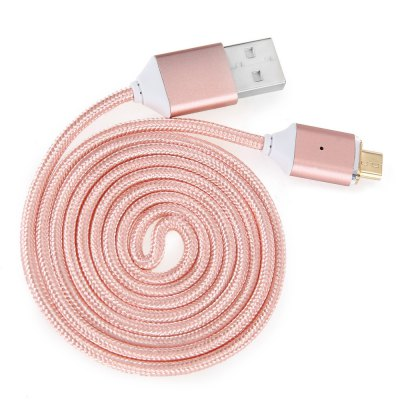 1m Magnetic Connector Micro USB CableChargers &amp; Cables<br>1m Magnetic Connector Micro USB Cable<br><br>Cable Length (cm): 100cm<br>Color: Gold,Rose Gold,Silver<br>Interface Type: Micro USB, USB 2.0<br>Mainly Compatible with: Zenfone, Samsung S6, Samsung Note 5, Samsung Galaxy S6 Edge Plus, Samsung Galaxy S6 Edge, Mate 7, HTC One M9, HTC<br>Material ( Cable&amp;Adapter): Nylon, Aluminum Alloy<br>Package Contents: 1 x 100cm Cable<br>Package size (L x W x H): 16.00 x 9.50 x 3.00 cm / 6.3 x 3.74 x 1.18 inches<br>Package weight: 0.106 kg<br>Product size (L x W x H): 100.00 x 1.50 x 0.60 cm / 39.37 x 0.59 x 0.24 inches<br>Product weight: 0.017 kg<br>Type: Cable