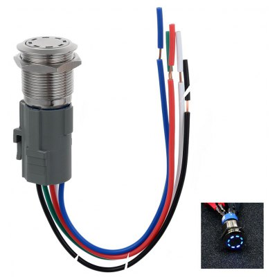 Jtron 19mm Automobile Button OFF / ON Switch