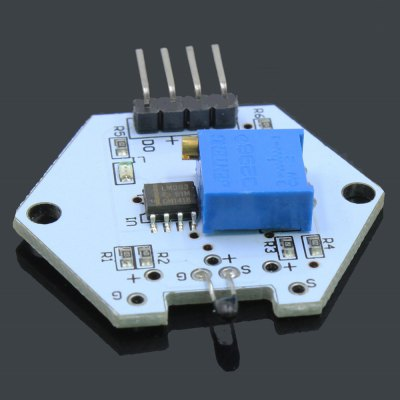 LDTR - 0001 Digital Thermistor Temperature Sensor ModuleSensors<br>LDTR - 0001 Digital Thermistor Temperature Sensor Module<br><br>Mainly Compatible with: Ardunio<br>Model: LDTR - 0001<br>Operating voltage: 3.3-5V<br>Package Contents: 1 x LDTR - 0001 Digital Thermistor Temperature Sensor Module<br>Package Size(L x W x H): 7.00 x 5.00 x 1.80 cm / 2.76 x 1.97 x 0.71 inches<br>Package weight: 0.023 kg<br>Product Size(L x W x H): 3.50 x 3.70 x 0.80 cm / 1.38 x 1.46 x 0.31 inches<br>Product weight: 0.006 kg<br>Type: Thermistor Temperature Sensor Module