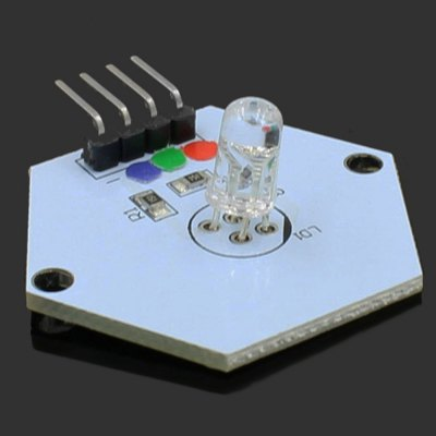 LDTR - 0005 RGB LED ModuleSensors<br>LDTR - 0005 RGB LED Module<br><br>Mainly Compatible with: Ardunio<br>Model: LDTR - 0005<br>Package Contents: 1 x LDTR - 0005 RGB LED Module for Arduino<br>Package Size(L x W x H): 7.00 x 5.00 x 2.60 cm / 2.76 x 1.97 x 1.02 inches<br>Package weight: 0.020 kg<br>Product Size(L x W x H): 3.50 x 3.50 x 1.60 cm / 1.38 x 1.38 x 0.63 inches<br>Product weight: 0.003 kg<br>Screen type: LED<br>Type: RGB LED Module