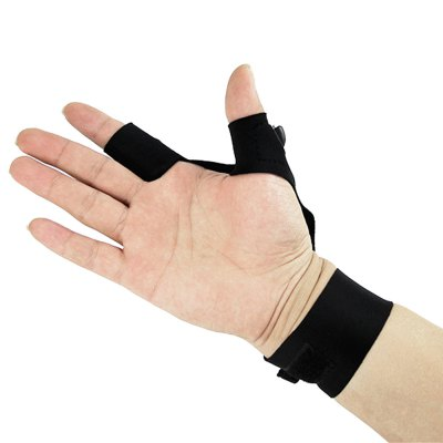 Sports Fishing Glove with 2 LED Lights for Night Activities
