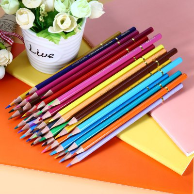 Deli 48 in 1 Color Pencil Set