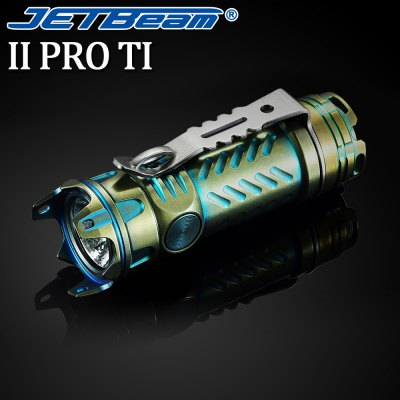 JetBeam II PRO Ti LED Flashlight
