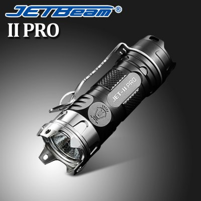 JetBeam II PRO Flashlight