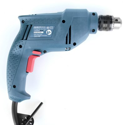 BOSCH TBM3400 340W Adjustable Speed Electric ScrewdriverPower Drill<br>BOSCH TBM3400 340W Adjustable Speed Electric Screwdriver<br><br>Brand: BOSCH<br>Model: TBM3400<br>Package Contents: 1 x Electric Screwdriver (2.22m Cable), 1 x Chuck Key, 1 x  Chinese Manual<br>Package size (L x W x H): 27.00 x 25.00 x 7.00 cm / 10.63 x 9.84 x 2.76 inches<br>Package weight: 1.520 kg<br>Product size (L x W x H): 24.00 x 20.00 x 5.50 cm / 9.45 x 7.87 x 2.17 inches<br>Product weight: 1.318 kg<br>Screw Head Type: All-in-One<br>Special function: Drill<br>Steel Material  : Tool Steel