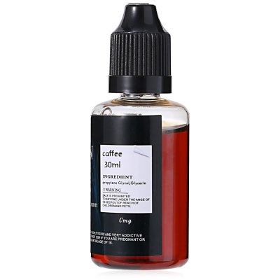 SEVEN Coffee Flavor E-juiceE-liquid<br>SEVEN Coffee Flavor E-juice<br><br>Accessories type: E-juice<br>Brand: SEVEN<br>E-Liquid Capacity: 30ml<br>E-Liquid Concentration: 0mg<br>E-liquid Concentration Range: 0mg<br>E-Liquid Flavor: Coffee<br>E-liquid Flavor Type: Beverage series<br>Material: Liquid, Plastic<br>Package Contents: 1 x 30ml SEVEN Coffee Flavor E-liquid<br>Package size (L x W x H): 4.00 x 4.00 x 9.00 cm / 1.57 x 1.57 x 3.54 inches<br>Package weight: 0.055 kg<br>Product size (L x W x H): 3.00 x 3.00 x 8.00 cm / 1.18 x 1.18 x 3.15 inches<br>Product weight: 0.045 kg<br>Type: Electronic Cigarettes Accessories