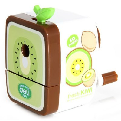 Deli Cartoon Fruit Style Manual Pencil Sharpener
