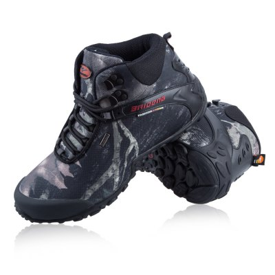 Male Camouflage High Boot Climbing Shoes