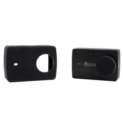 SMACO Protective Silica Gel Frame Cage Lens Cover for Xiaomi Yi II