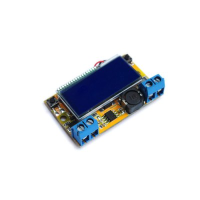 DC-DC Adjustable Step Down Power ModuleBoards &amp; Shields<br>DC-DC Adjustable Step Down Power Module<br><br>Package Contents: 1 x DC-DC Step-down Power Supply Module, 1 x Transparent Shell<br>Package Size(L x W x H): 10.00 x 5.00 x 5.00 cm / 3.94 x 1.97 x 1.97 inches<br>Package weight: 0.0600 kg<br>Product weight: 0.0420 kg<br>Type: DC-DC Step Down Power Supply Module