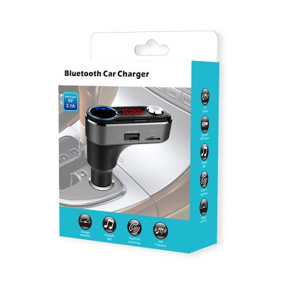 Bluetooth Dual USB Car Charger MP3 Player