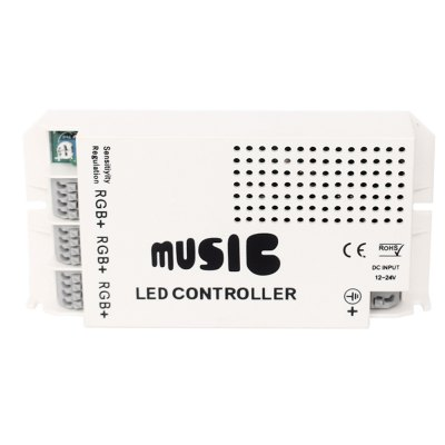 3-channels-common-anode-rgb-led-light-strip-music-controller-with-ir-remote-control-9a-dc-12v