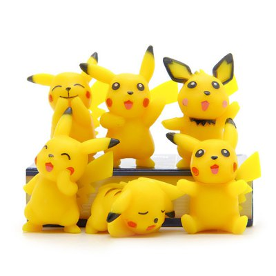 6pcs / set Characteristic Figure Model ToyMovies &amp; TV Action Figures<br>6pcs / set Characteristic Figure Model Toy<br><br>Completeness: Finished Goods<br>Gender: Unisex<br>Materials: PVC<br>Package Contents: 6 x Figure Model<br>Package size: 15.00 x 10.00 x 5.00 cm / 5.91 x 3.94 x 1.97 inches<br>Package weight: 0.170 kg<br>Product weight: 0.085 kg<br>Stem From: Japan<br>Theme: Movie and TV